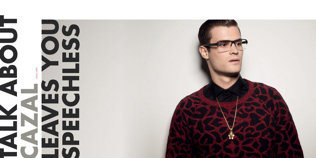Retouche Cazal Lookbook 2014 - Your Book to Look Good