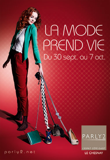 Retouche Campagne Parly 2 - Mode 2011