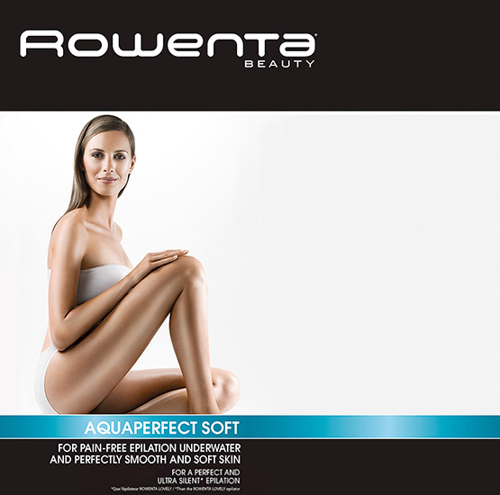 Retouche Rowenta Beauty - Aquaperfect Soft