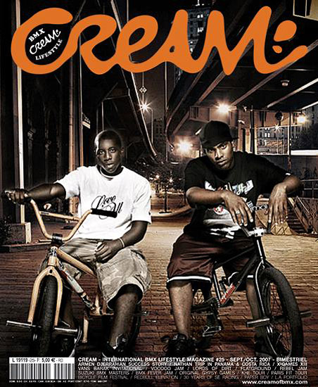 Retouche Cream BMX Lifestyle - Couverture