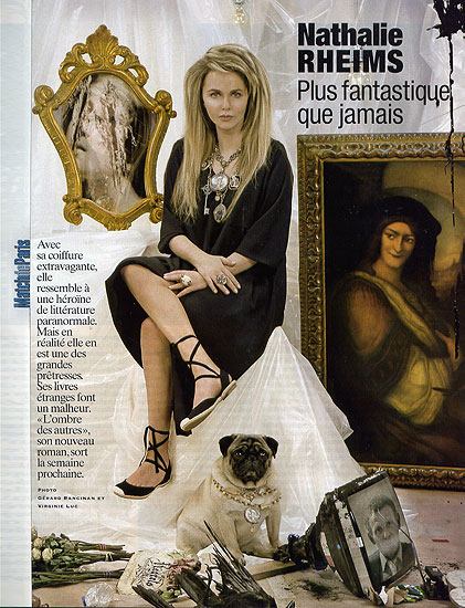 Retouche Paris Match n°2986 - Nathalie Rheims
