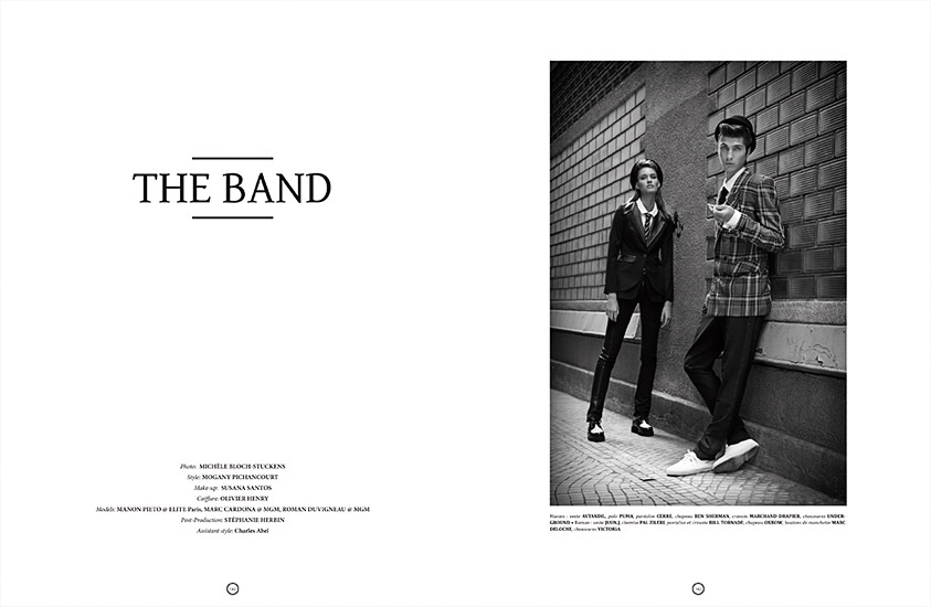 Shoes Up n°32 - Édito The Band