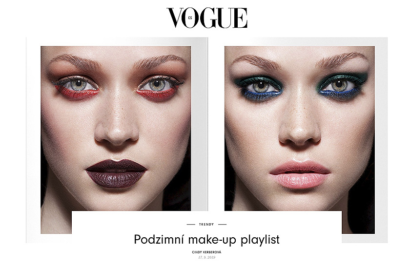 Retouche Vogue CZ - Édito Make-up playlist