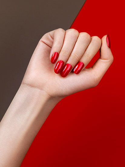 Retouche Ongles - Peggy I-Lak Blazing Red